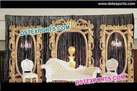 Elegant Wedding Stage Backdrop Panel