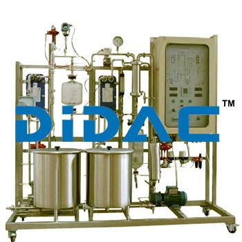Milk Sterilisation Pilot Plant