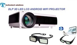 TS DLP 3D Android WiFi Led Projector