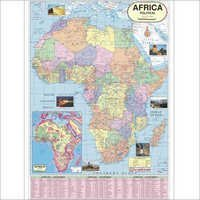 Geographical Map Of Subcontinents Map