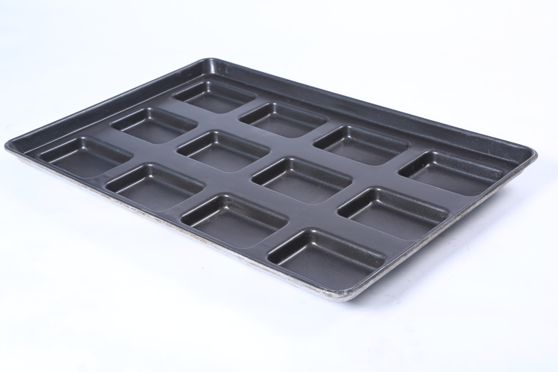 Rectangular Bun Baking Tray