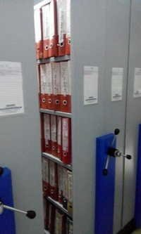 File Storage Rack System