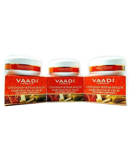 Chandan Kesar Haldi Fairness Face Pack