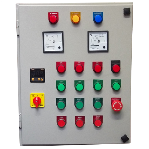 Industrial Machine Control Panels