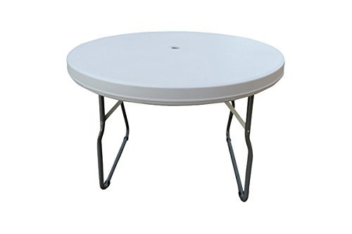 Round Folding Table with Hole