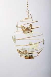 Butterfly Spiral Votive