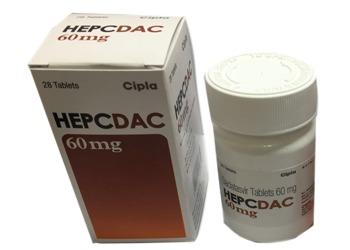 Daclatasvir HepCdac 60mg Tablets