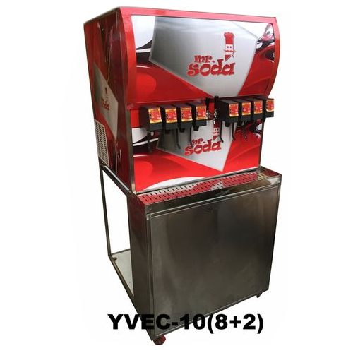 Soda machine 10 flavour