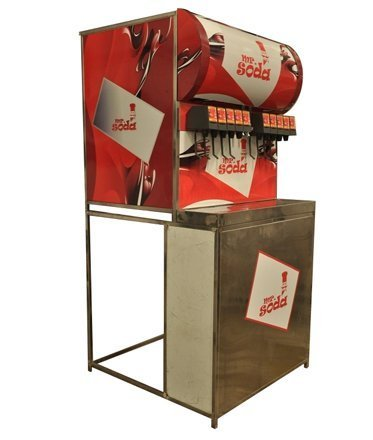 Soda Machine with trolley