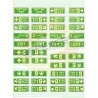 Exit & Entry Safety Signs