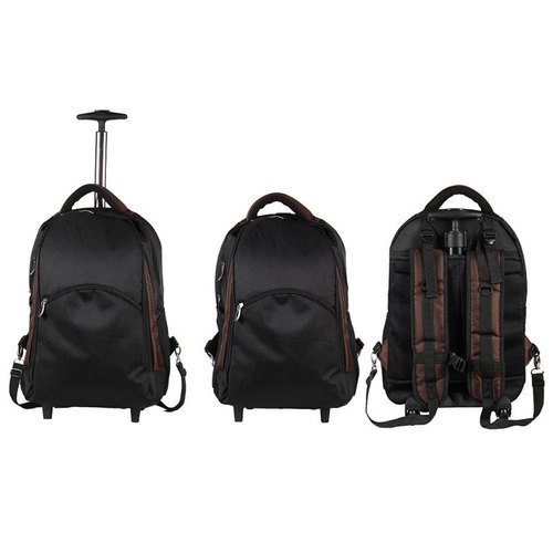 Black Strolley Back Pack