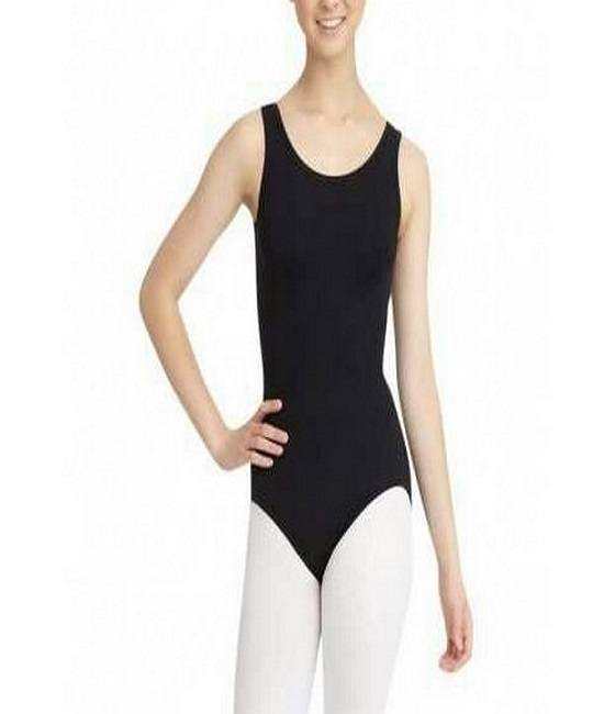 Black Sleeve less Leotard Body Sutt