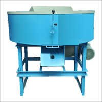 Pan Mixer Machine With Blade