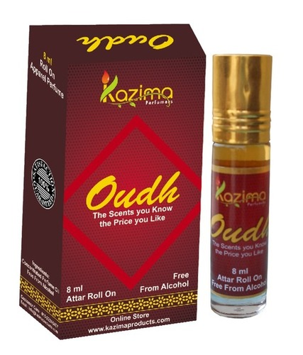 Oudh Apparel Concentrated Attar Perfume (8ml Rollon free From Alcohol)