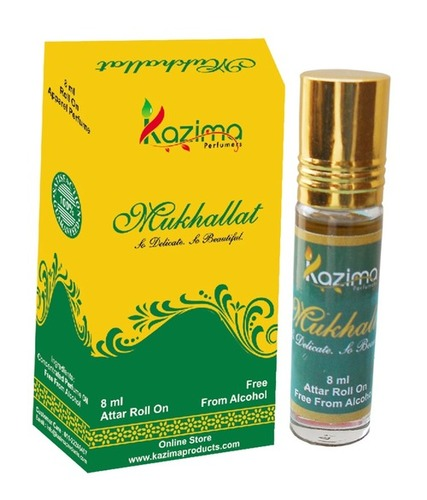 Mukhallat Apparel Concentrated Attar Perfume (8ml Rollon free From Alcohol)