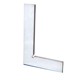 HARDENED & GROUND BEVELLED EDGE TRY -SQUARE FLAT EDGE WITHOUT STOCK