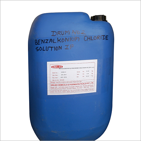 Benzalkonium Chloride Solution