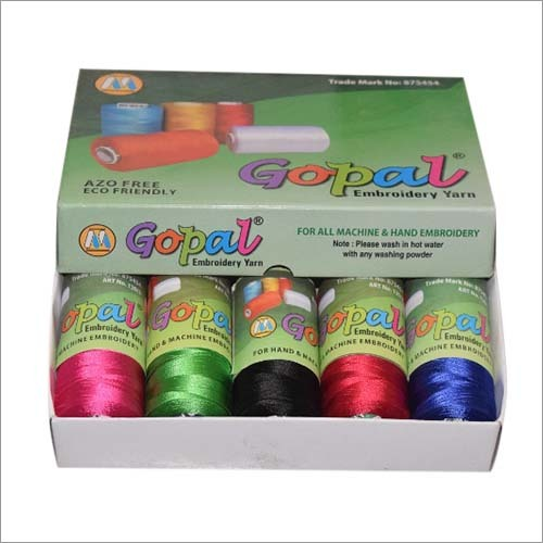 Cotton Mercerized Embroidery Thread