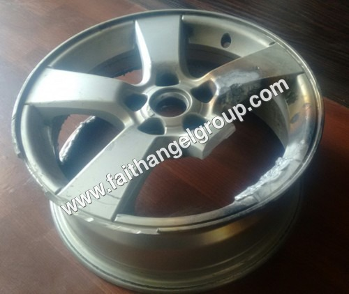 alloy car wheels scrap