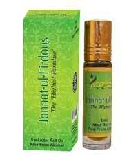 Jannat-Ul- Firdous Apparel Concentrated Attar Perfume (8ml Rollon free From Alcohol)