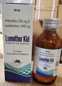 Artemether and Lumefantrine Dry Syrup