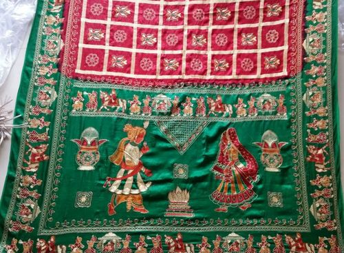 Designer Heavy Work Cotton Saree
