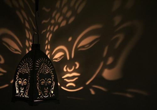 Buddha Lamp Small