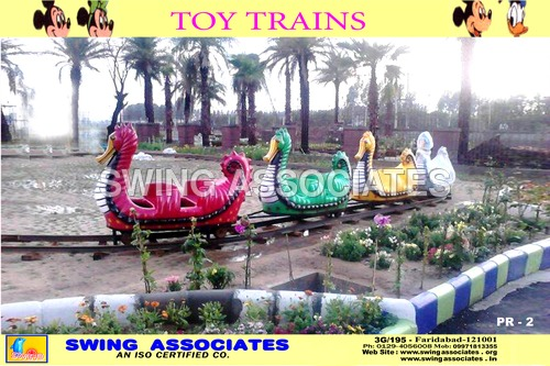 Toy Trains Sea-Horse Shape