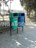 Twin Dustbins