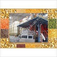 Canadian Lentil Peas Dehusking Splitting Plant