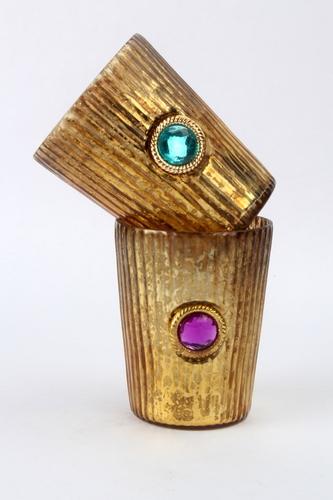 Antique Jewel Mid Votive S/2