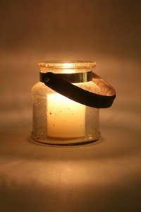 Stone finsh Jar Hurricane Small