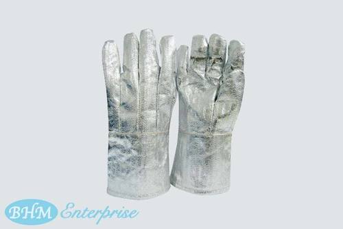 Alumnised Fire Fighting Hand Gloves