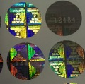 Holographic Warranty Labels with Custom Logo