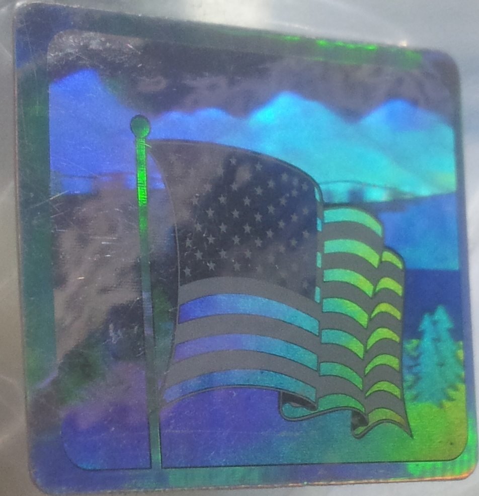 Made in USA-Hologram Labels