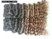 Two Tone Color Curly Virgin Hair