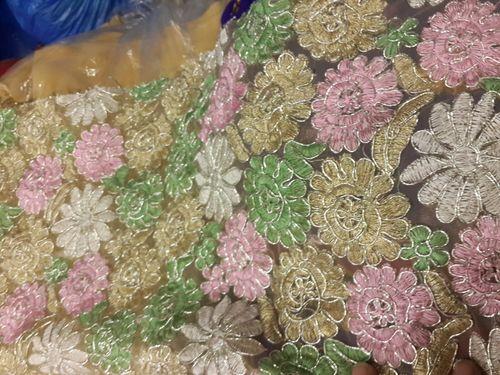 Flower work fancy Fabrics