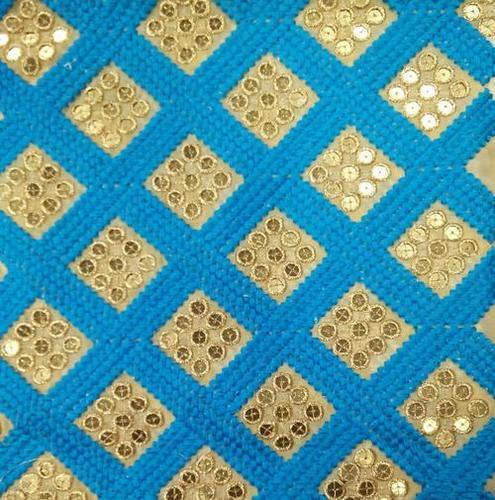 Fancy Work fulkari Fabrics
