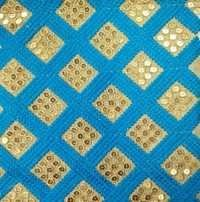 Fancy Work fulkari Fabrics