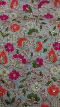 Little Flower Fulkari fabrics