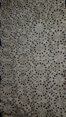 butta work fulkari fabrics