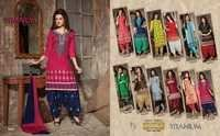 Bottom Work Wholesale Salwar Suits