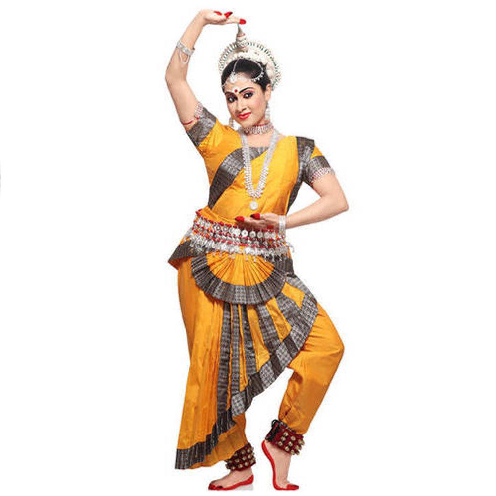 Yellow Bharatanatyam Sets
