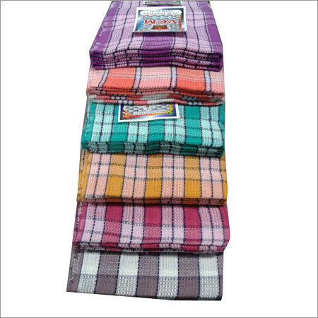 Checked Cotton Towels
