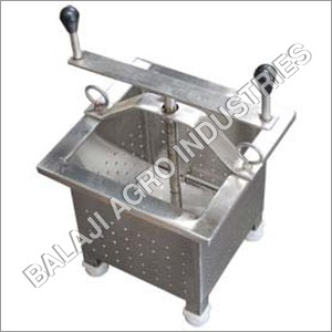 SS  Manual  Paneer Press Machine