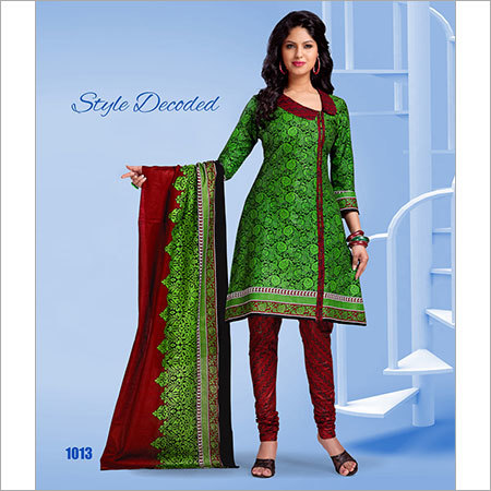 Embroidered Suit Dress Material