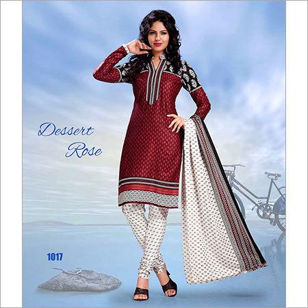 Chandari Suit Dress Material