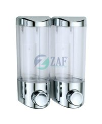 Twin Glass Soap Dispenser