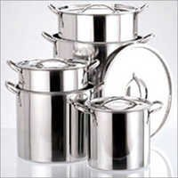 S.S Stock Pot 4 Pc Set