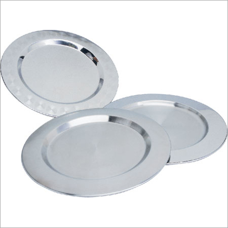 S.S Charger Plates